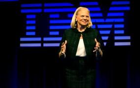 IBM chief executive Ginni Rometty.