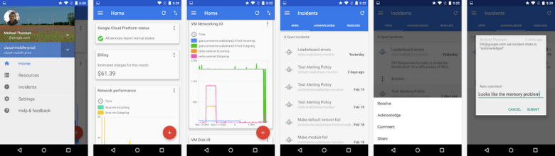 Google launches cloud console for android says ios version coming next venturebeat cloud - Android console application ...