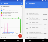 Google's new Cloud Console cloud-monitoring app.