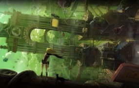 Gravity Rush was a gorgeous game.