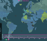 MapD's real-time global Twiter map