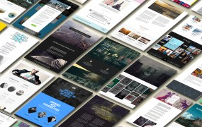 Website layouts  brought to you by The Grid.