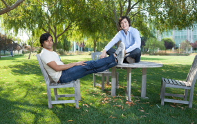 Robinhood founders Baiju Bhatt and Vlad Tenev