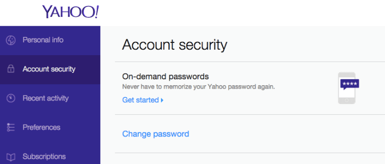 No password, no problem: Yahoo rolls out new, phone-based login