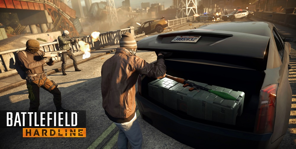 Battlefield: Hardline was one of EA's big releases last quarter.