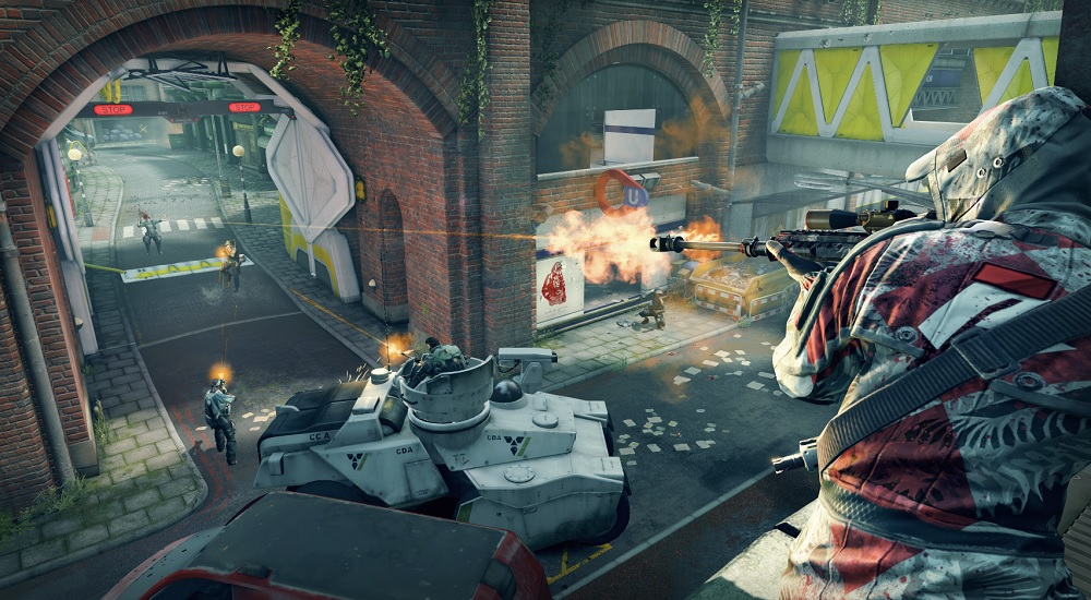 """Dirty Bomb takes place in an abandoned London, after a """"dirty"""" radioactive bomb wipes out the people."""