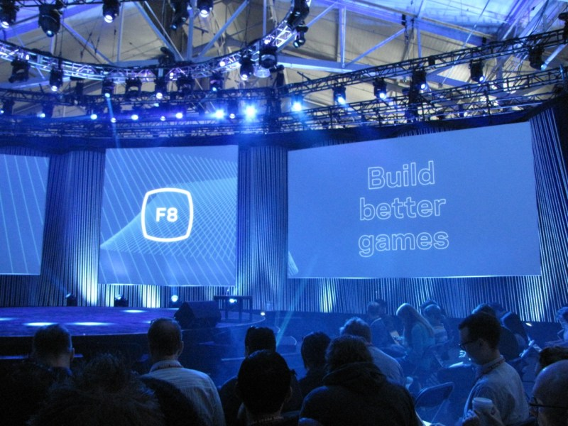 Facebook's F8 developers conference kicks off its second day in San Francisco today.