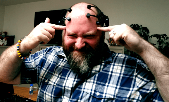 GamesBeat writer Stephen Kleckner shows that games don't fry your brain after all.