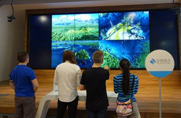 Shinra Technologies showed its demo in Austin at SXSW.