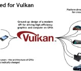 Vulkan is a successor to the OpenGL graphics standard.