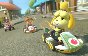 Animal Crossing came to Mario Kart 8 in April.