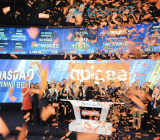 Apigee hits the opening bell at the Nasdaq in New York on April 24.