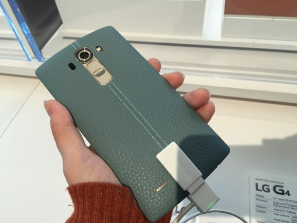 Hands-on with the LG G4