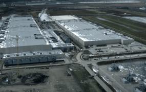 Google's 'Council Bluffs' data center facilities in Iowa.