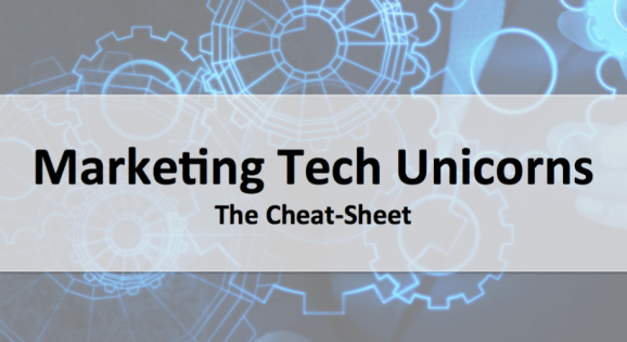 marketing tech unicorns