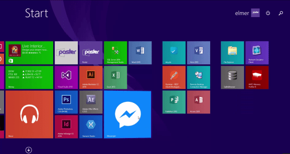 Watch this developer build a Facebook Messenger app for Windows in 3 minutes
