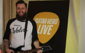 Jaime Jackson, creative director on the new Guitar Hero, of Freestyle Games.