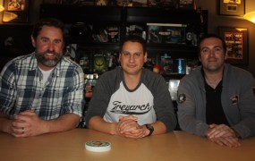 Treyarch's Dan Bunting, Mark Lamia, and Jason Blundell.