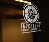 Portal Aperture sign at Valve HQ.