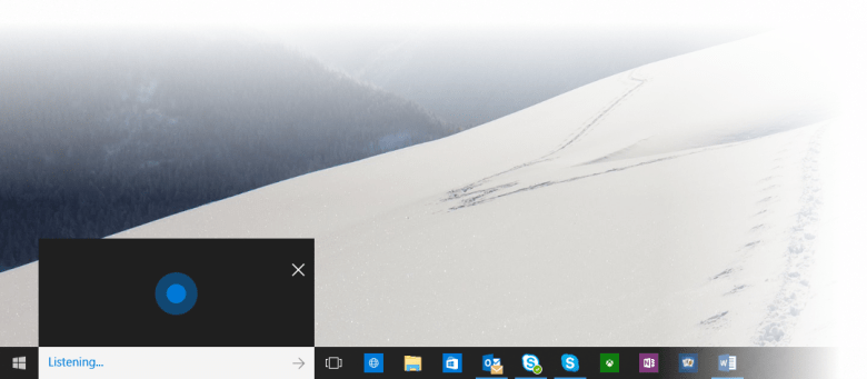 how to add cortana to the taskbar