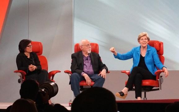 Senator Elizabeth Warren puts tech crowd to sleep with talk of infrastructure