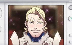 This Fire Emblem title lets you use your stylus to rub handsome men to make them smile.