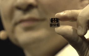 The first gesture radar that's small enough to fit in a wearable device.