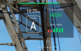 Skylight's smart glass interface