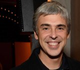 Google chief executive Larry Page.