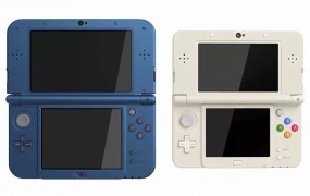 The New 3DS has buttons -- lots of buttons.
