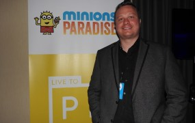 Mike Rasmussen is general manager of EA Mobile's Minions Paradise.