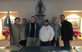 Myst TV's crew celebrates signing with Hulu