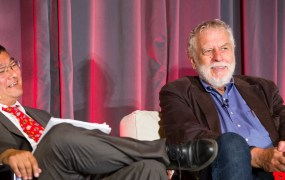 Nolan Bushnell, founder of Atari, at GamesBeat Summit.
