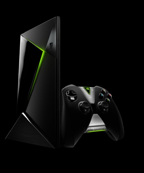 Nvidia Shield set-top box and Shield Controller