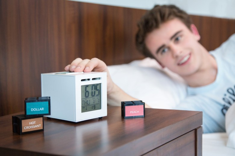 SensorWake alarm clock gets you up with sweet smells ...