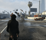 One of our favorite mods: Grand Theft Auto V's vehicle cannon, which turns any gun into a car-firing weapon of destruction. It's available on GTA5-mods.com.