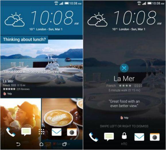 Yelp HTC One