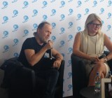 Lars Ulrich of Metallica at Cannes Lion.