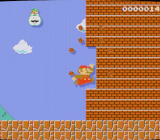 The 30th Anniversary Mario Amiibo gives Super Mario Maker a classic CRT look.