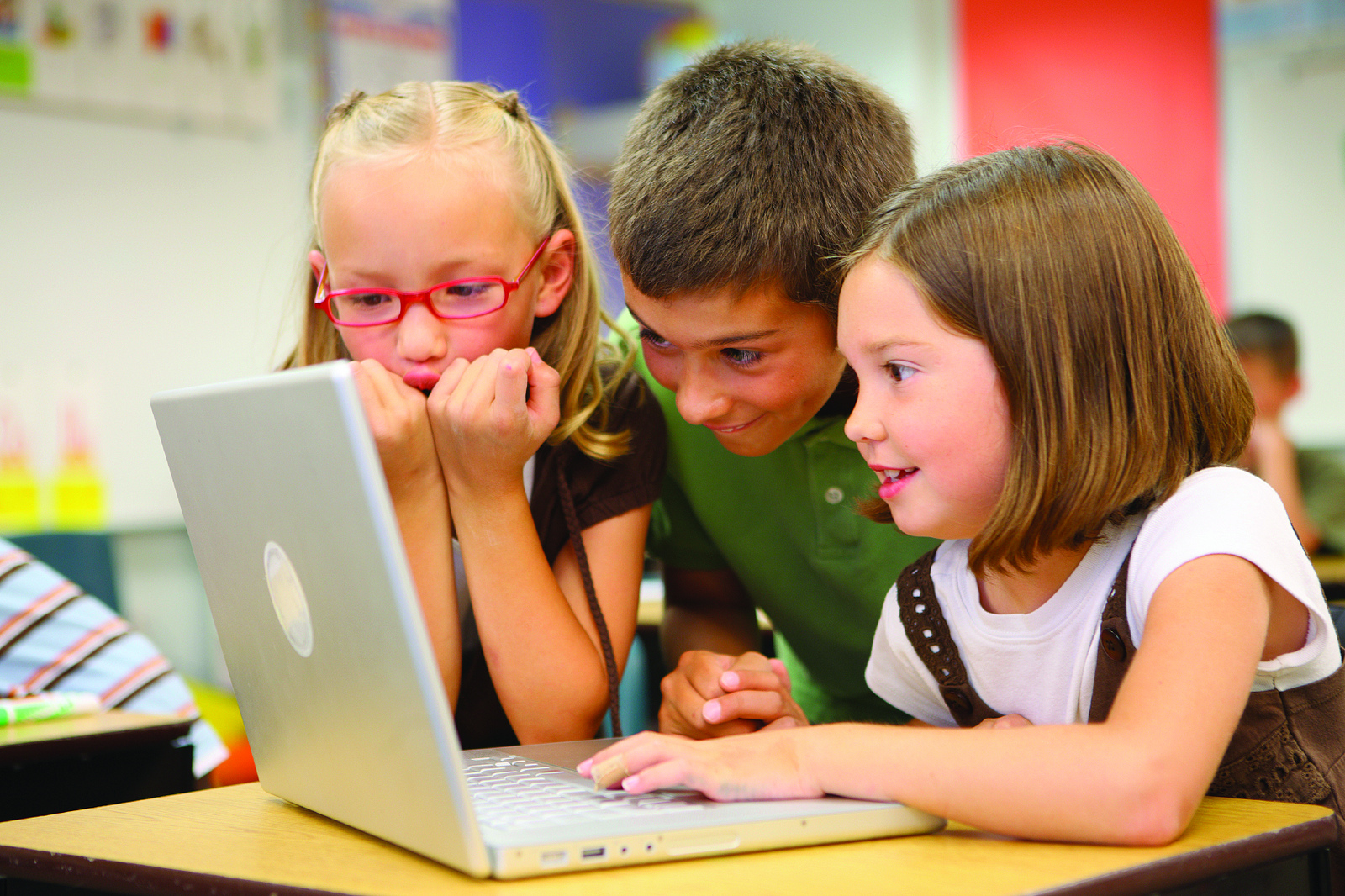 Educational games are playing an increasingly big  role in schools.