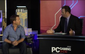 Boss Key studios head Cliff Bleszinski talks about Project Bluestreak at the PC Gaming Show during E3 2015.