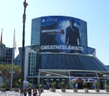 Sony bought out the biggest sign again at E3 2015.