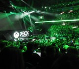 The view of the crowd at Microsoft's E3 2015 event at the Galen Center.