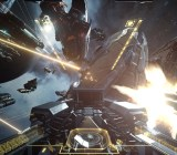 Part of the thrill of Valkyrie's new map is weaving through the large spaceships.