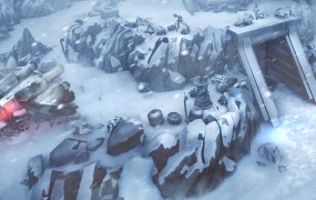 Hoth in Star Wars: Uprising.