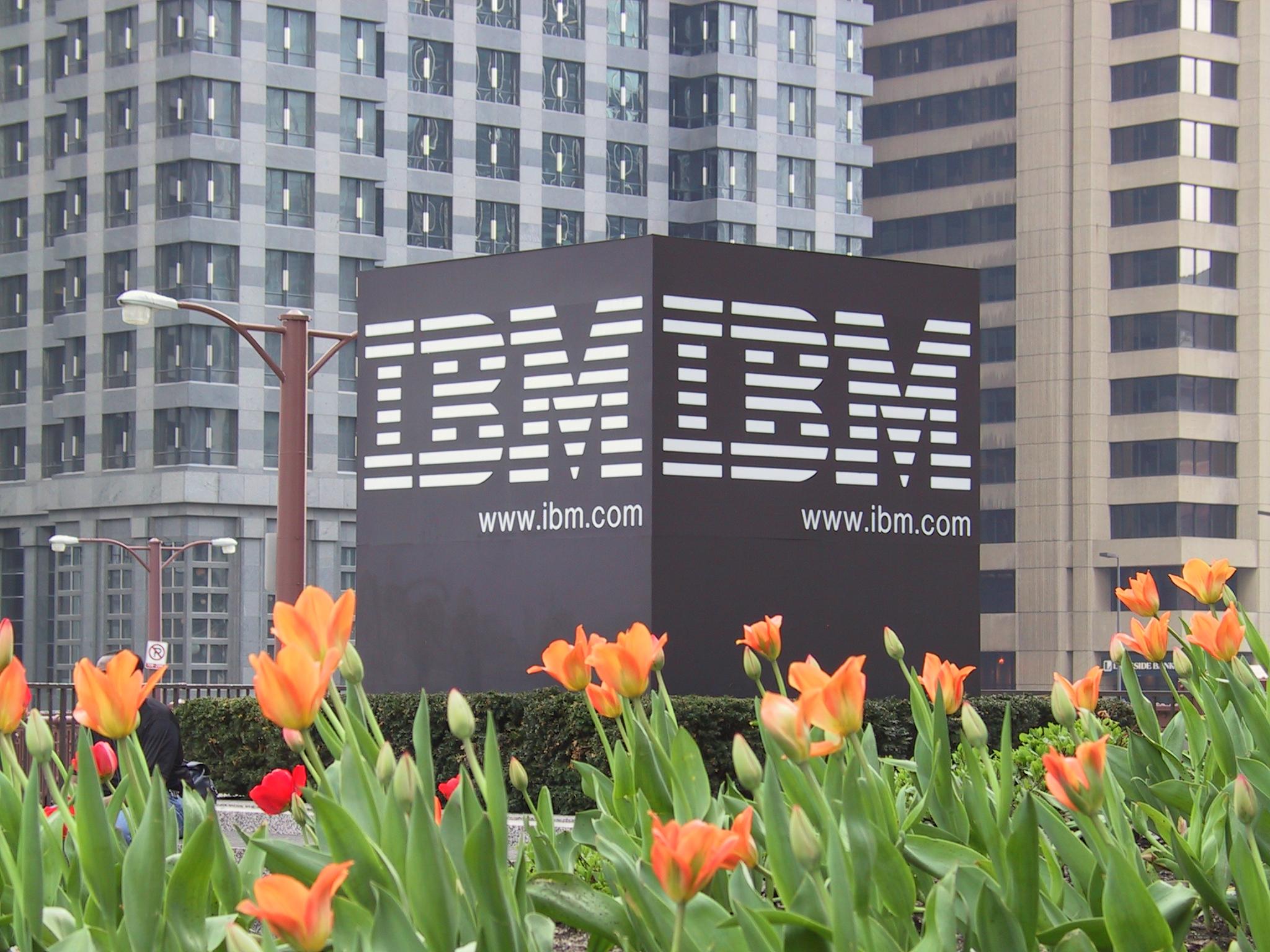 IBM sign Alfred Lui Flickr