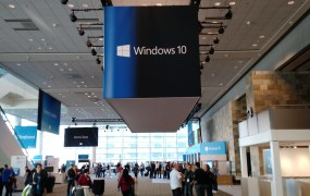 At Microsoft's Build developer conference in San Francisco on April 30.