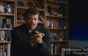 Astrophysicist Neil deGrasse Tyson, in a video shown by Apple on June 8, 2015.