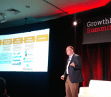 Scott Brinker at VentureBeat's GrowthBeat Summit in Boston.