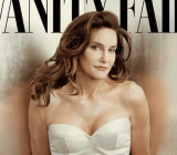 The now-famous cover of Vanity Fair magazine